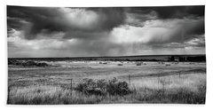 Malheur Storms Clouds Beach Towel