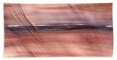 Malibu #32 Seascape Landscape Original Fine Art Acrylic On Canvas Beach Towel