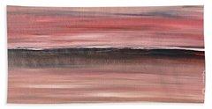 Malibu #34 Seascape Landscape Original Fine Art Acrylic On Canvas Beach Towel