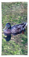 Mallard Monet Beach Towel