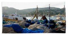 Beach Sheet featuring the photograph Mallorca 2 by Ana Maria Edulescu