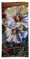 Mallow Mallow Beach Towel by Jack Torcello