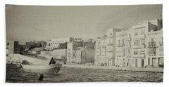 Maltese Boat Beach Towel