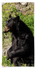 Mama Black Bear Beach Towel
