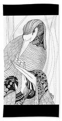 Mama Heron Beach Sheet