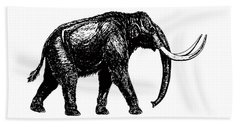 Mammoth Tee Beach Towel