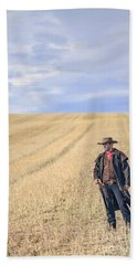 Man Of The West Beach Towel