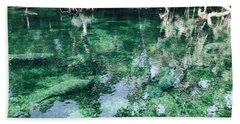 Manatees Beach Towel