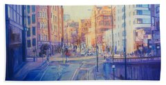 Manchester Light And Shade Beach Towel