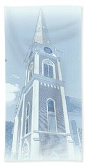 Manchester Vt Church Beach Towel