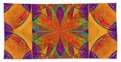 Mandala #2  Beach Towel by Loko Suederdiek