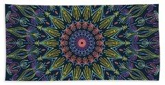 Mandala 2 Beach Towel