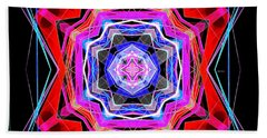 Beach Sheet featuring the digital art Mandala 3325 by Rafael Salazar