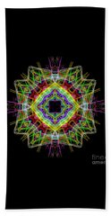 Beach Sheet featuring the digital art Mandala 3333 by Rafael Salazar