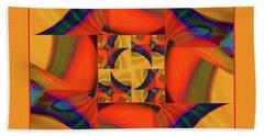 Mandala #56 Beach Towel by Loko Suederdiek