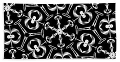 Mandala 8 Beach Towel