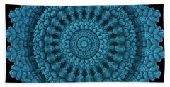 Mandala For The Masses Beach Sheet by Lyle Hatch