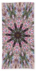 Mandala Of Cherry Blossom Beach Towel