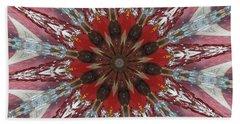 Mandala Of Glass Beach Towel