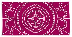 Mandala-i Beach Towel