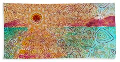 Mandala Sets Over The Dunes Beach Towel