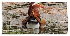 Mandarin Duck Beach Sheet