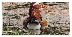 Mandarin Duck Beach Sheet