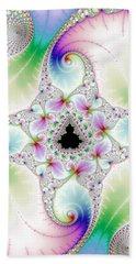 Mandebrot In Pastel Fractal Wonderland Beach Sheet