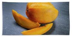 Mango And Slices Beach Towel by Elena Elisseeva