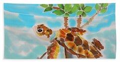 Mangrove Baby Turtle Beach Towel