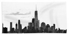 Manhattan Skyline No. 17-2 Beach Towel