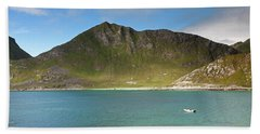 Mannen From Vik Beach Beach Towel