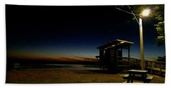 Manns Beach Nocturnal 2 Beach Towel