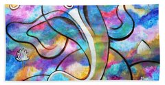 Manomay-ganesha  Beach Towel