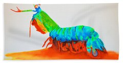 Mantis Shrimp Beach Towel