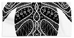 Maori Turtle Beach Towel