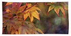 Maples Golden Glow 5582 Idp_2 Beach Towel