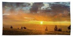 Marble View Sunrays Beach Sheet