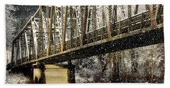 Marblemount Wa Bridge Beach Towel