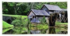 Beach Towel featuring the photograph Marby Mill 3 by Paul Ward
