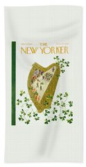 New Yorker March 17 1956 Beach Towel