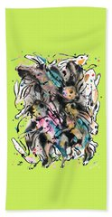 March Hares Beach Towel