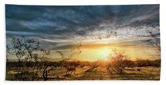 March Sunrise Beach Towel