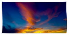 Sunset March 31, 2018 Beach Towel