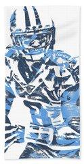 Marcus Mariota Tennessee Titans Pixel Art 10 Beach Towel