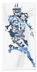Marcus Mariota Tennessee Titans Pixel Art 11 Beach Towel