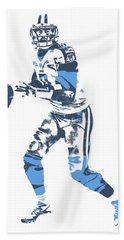 Marcus Mariota Tennessee Titans Pixel Art 12 Beach Towel