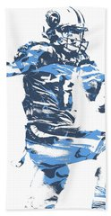Marcus Mariota Tennessee Titans Pixel Art 22 Beach Towel