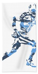 Marcus Mariota Tennessee Titans Pixel Art T Shirt 2 Beach Towel