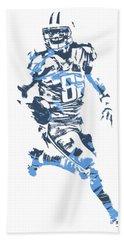 Marcus Mariota Tennessee Titans Pixel Art T Shirt 3 Beach Towel